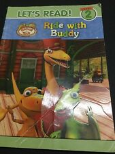 "Let's Read Dinosaur Train Reader ""Ride With Buddy"" Level 2 ISBN 9781743462201"