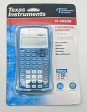 NEW Texas Instruments TI-30XIIS Scientific Two-Line Calculator Blue ACT SAT AP