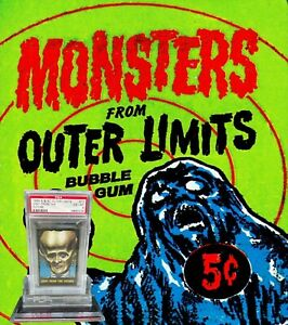 1964 A&BC Outer Limits VISIT FROM THE FUTURE #10 EX-MINT 6 - Vintage garno PSA