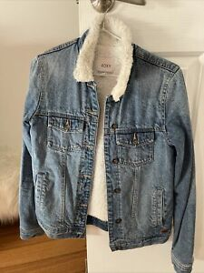 Roxy Denim Sherling Jacket Coat