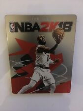 NBA 2K18 Steelbook Collectable  PS4/Xbox One Case Legend Edition (NO GAME)