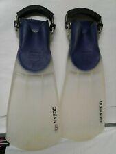 Oceanic OCEAN PRO flippers swimfins Medium preowned good condition USA scuba