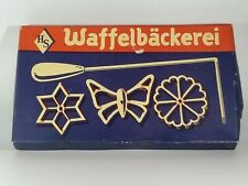 Vintage Waffelbackerei in Original Box with Instructions Sheet