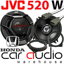 Honda Civic EP3 2000-2006 JVC 13cm 520 Watts Front Door Car Speakers Fitting Kit