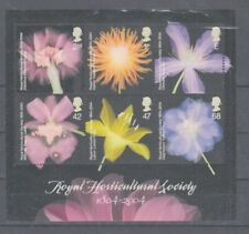 Plants - Flowers United Kingdom Block 20 (MNH)