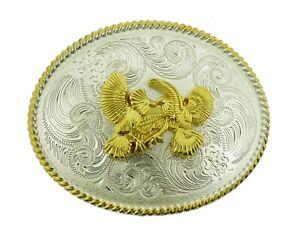 New Gold Rooster Cockfighting Belt Buckle Western HEBILLA DE CINTURÓN DE GALLO