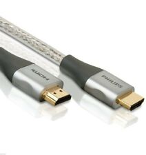 Philips High Speed 3ft-25ft HDMI Cable 1080P 4K Ultra HD 3D HDTV 24K Gold Plated
