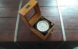 Anker-chronometer A. Lange & Söhne Glashütte No. 1045   chronometer marine sohne