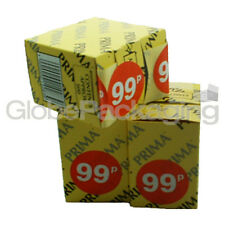 """Box of 500 """" 99p """" Retail Shop Price Labels Self Adhesive Stickers QUALITY 45mm"""