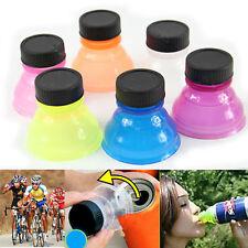 6PCS Snappy Caps Snap Bottle Top Can Cover Fizz Coke Drink Soda Lid Cap Reusable