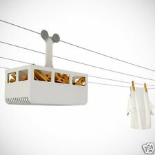 Cabina Peg holder WHITE Box Storage Home Laundry Kitchen Gift Monkey Business