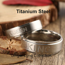 Queen Titanium Steel Wedding Band  (7)