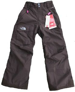The North Face Girls Waterproof Insulated BROWN Pants $99 Size: S