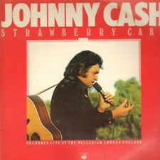"12"" Johnny Cash strawberry Cake recorded live at palladium London 70`s CBS"