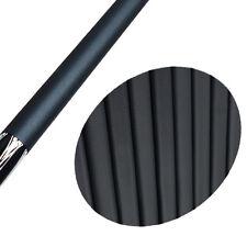 10pcs Premium Billiards Pool Cue Grip Anti Slip Rubber Tubing Covers Snooker BK