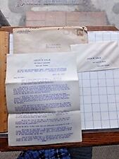1935 Six pg Oil Well Investment Letter. MAKE YOUR FORTUNE. Jack Vale, Dallas, TX