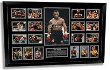 MIKE TYSON SIGNED PHOTO LIMITED EDITION FRAMED MEMORABILIA