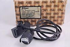 Nikon SC-12 TTL Sensor Cord for SB-11 SB-14 Flash boxed