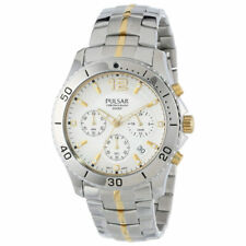 Pulsar Men's PT3291 Two-Tone Chronograph Collection Watch