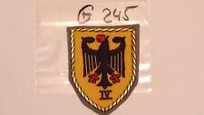 Bundeswehr Verbandsabzeichen IV. Korps Offizier (g245)