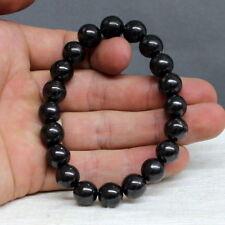 10 mm Round Beads Shungite Schungite Stretch Bracelet Anti Radiation Russia