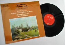 HMV MELODIYA ASD3883 GLAZOUNOV SYMPHONY #6  SAXOPHONE CONCERTO MOSCOW RADIO ORCH