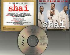SHAI Place where you belong 2 MIXES & LIVE LIMIT CD single Beverly Hills Cop III