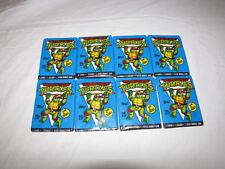 TMNT Teenage Mutant Ninja Turtles Topps Trading Card Packs Lot of 8 NEW
