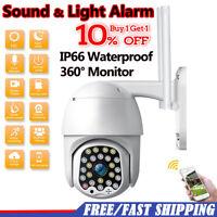 1080P HD IP66 CCTV Camera Waterproof Outdoor WiFi PTZ Security Wireless IR Camra