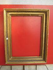 Cornice a Pastiglia  antica per stampa e tela cm 78x60,5  in legno 60