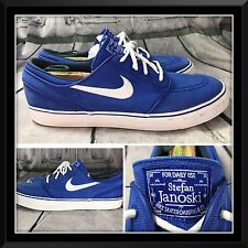 Nike sb zoom stefan janoski premium blue canvas Sneakers size 11.5 Shoes