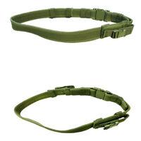 MOLLE Tactical Belt TB 2 Pistol Mag Pouch Duty Belt - OD GREEN