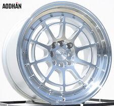 AODHAN AH04 17x9 4x100 / 4x114.3 +25 Silver (PAIR) wheels