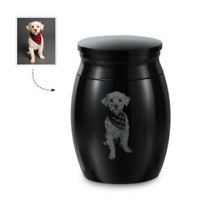 Custom Small Keepsake Urns for Human Pet Ashes Stainless Steel Memorial Ashes