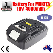 18V 4.0AH Battery For Makita BL1840 BL1830 BL1815 LXT400 Lithium Ion Cordless