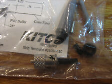 KITCO,0200-3000,multimode COTS ST fiber optic connector w/template 0100-1180