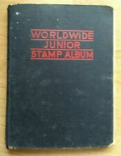 Old Stamp Album With Stamps