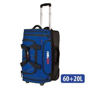 Blackwolf 1390 BLUE NEW Bladerunner 60+20L Wheeled Duffel/Duffle Bag