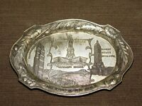 VINTAGE PICO OCCUPIED JAPAN STATUE OF LIBERTY SOUVENIR OF NEW YORK COIN TRAY
