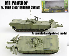 US M1 Abrams Panther II with Mine clearing blade system 1/72 finished Easy model