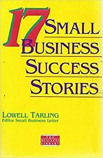 17 Small Business Success Stories by Tarling (Paperback)