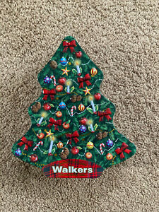 Christmas Tree Shaped Tin Storage Box Craft Items Decorations