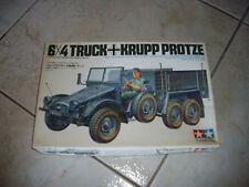TAMIYA 6X4 TRUCK KRUPP PROTZE  PLASTIC MODEL 1/35