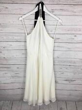 COAST Halter Neck Dress - UK10 - Ivory - Great Condition - Women's
