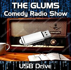 THE GLUMS - OLD TIME RADIO SHOW COMEDY USB - 65 EPISODES MP3