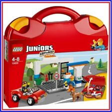 ❤ LEGO Juniors 10659 ❤ VALISE DE CONSTRUCTION ROUGE ❤ NEUF SCELLE ❤