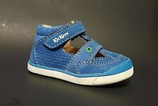 Brand New $80 KICKERS Toddler Baby Boys Shoes Sandals LEATHER Size 5 USA/21 EURO