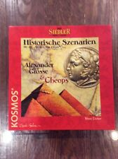 Settlers Of Catan Historical Scenario Alexander The Great & Cheops English Rules