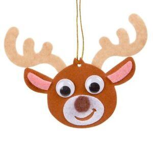 Felties Felt Reindeer Ornament Craft Kit