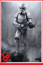 STAR WARS STORMTROOPER Plaque Métal Tin Poster 10 x 14 metal Masked # NEUF #